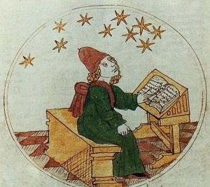 medieval astrologer
