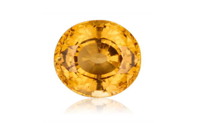 THE GEMSTONE OF THE SOUTH LUNAR NODE IS THE HESSONITE GARNET.