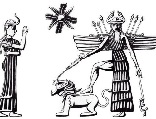 VENUS WITH THE LION POWERFUL TALISMAN: Inanna from Akkad. The Queen of All Lands